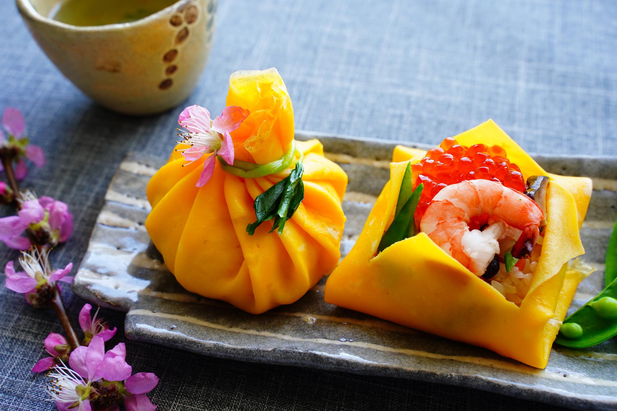茶巾寿司について