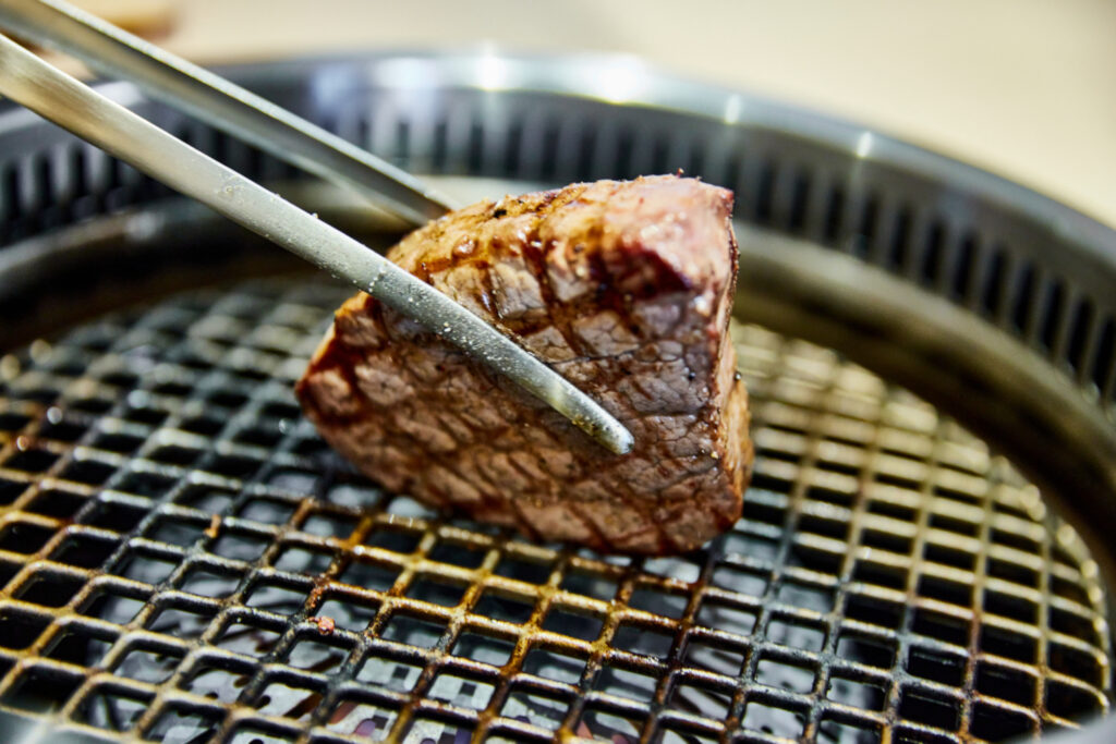 香水亭,焼肉,肉割烹,シャトーブリアン,六本木