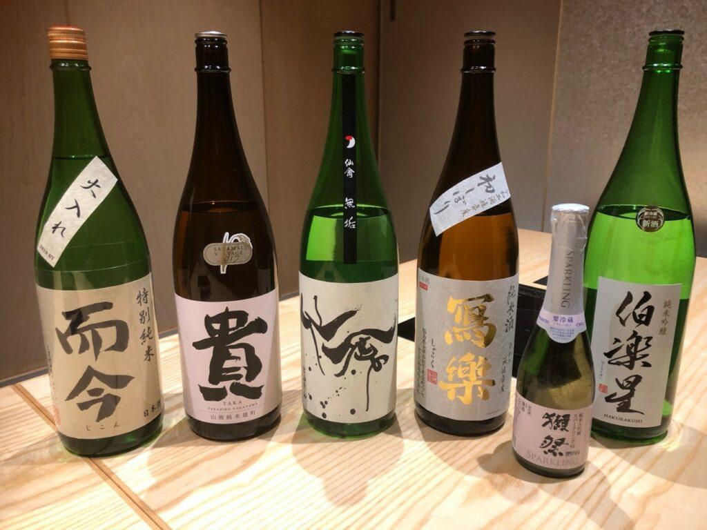 香水亭,六本木,日本酒,ペアリング,個室,東京,日本料理